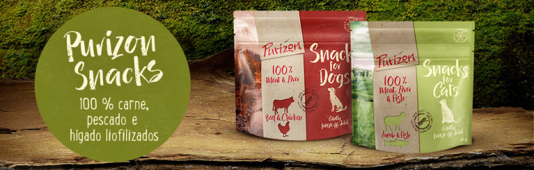 Purizon snacks para perros y gatos
