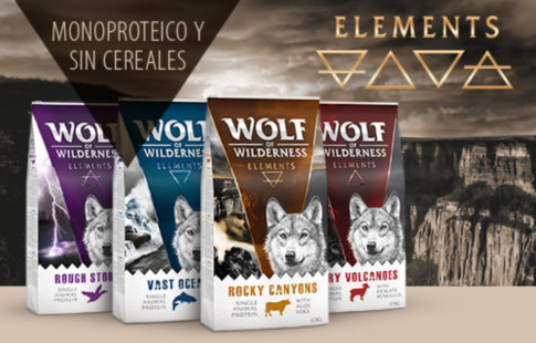 Pienso Wolf of Wilderness Elements