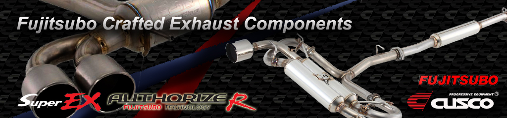 Fujitsubo Crafted Exhaust Components