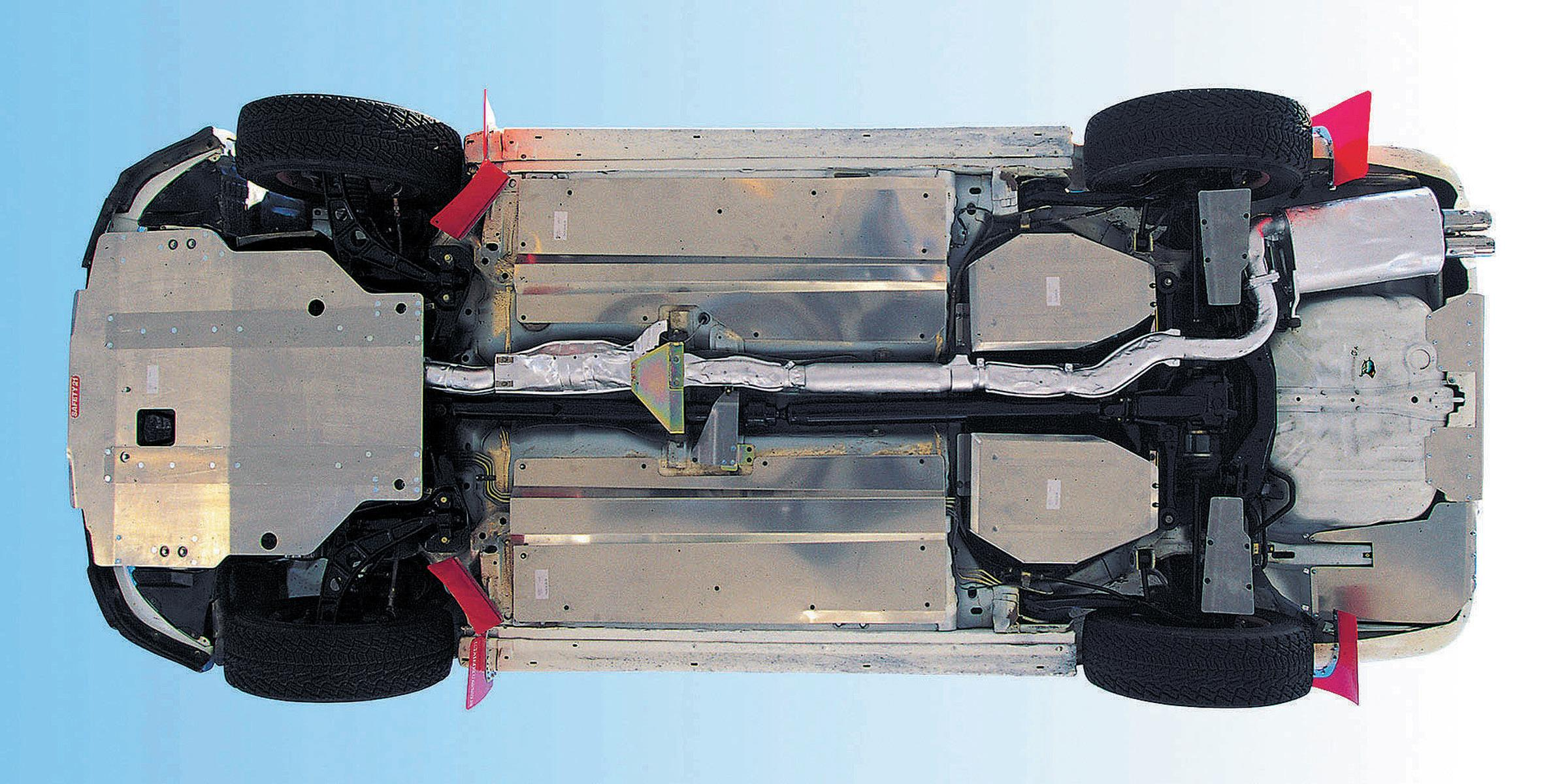 Heavy Duty Body Under Guard Panel Set for Off-Road use