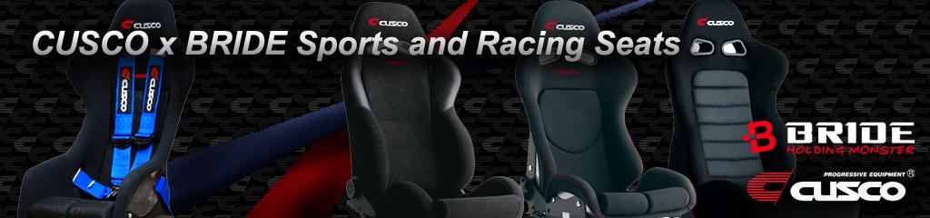 CUSCO x BRIDE Sports and Racing Seats