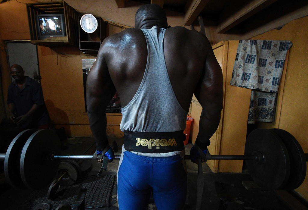 TOPSHOT-UGANDA-WEIGHTLIFTING-BODYBUILDING-FEATURE