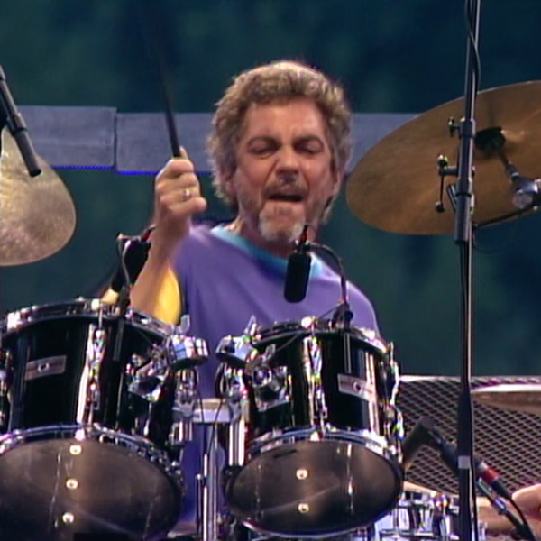 """Steve Gadd during the performance of """"The Boy in the Bubble."""""""