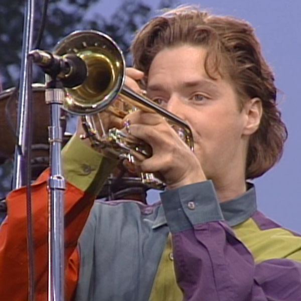 """Chris Botti during the performance of """"She Moves On."""""""
