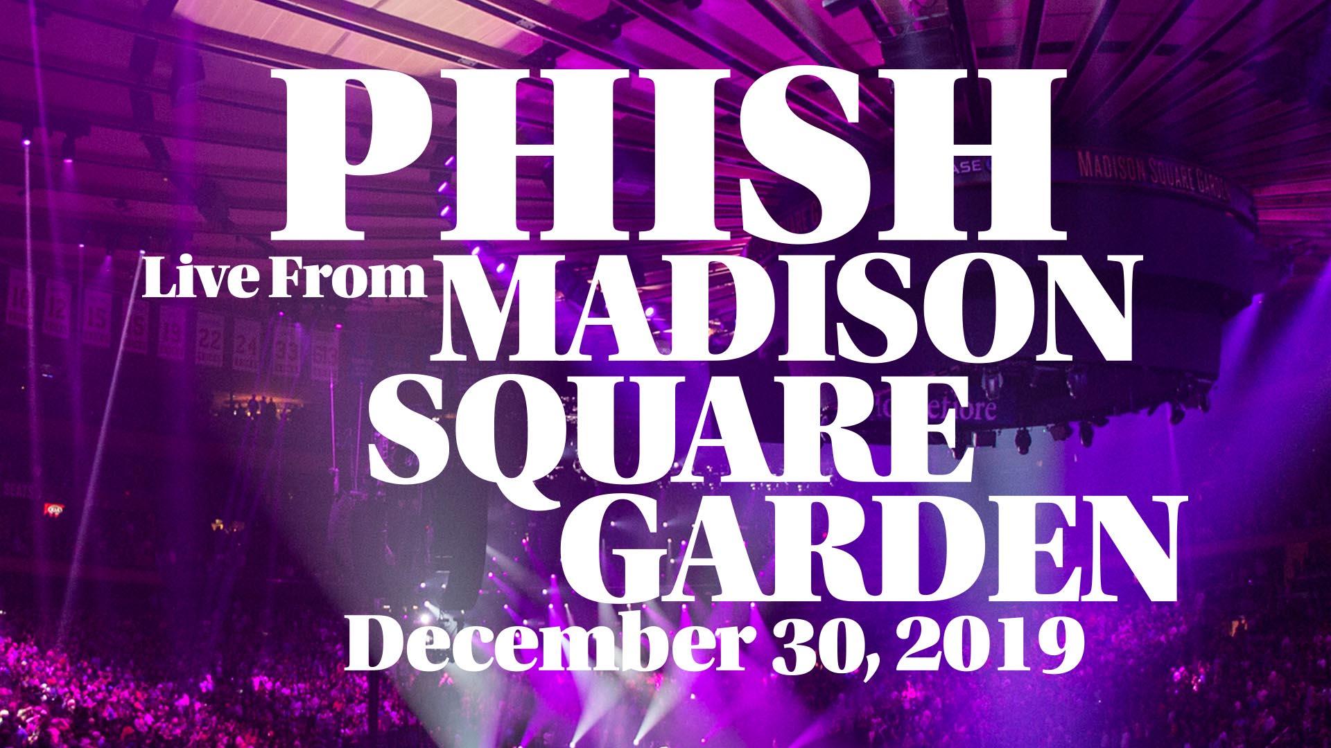 12/30/2019 Madison Square Garden, New York, NY