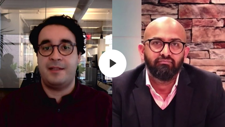 Enigma CEO Hicham Oudghiri joins CXOTalk host, Michael Krigsman, and Milind Kamkolkar, CDO of Sanofi, to discuss how data is changing the healthcare industry.