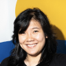 A headshot of Pam Wu, an Enigma employee