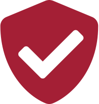 Tick shield icon