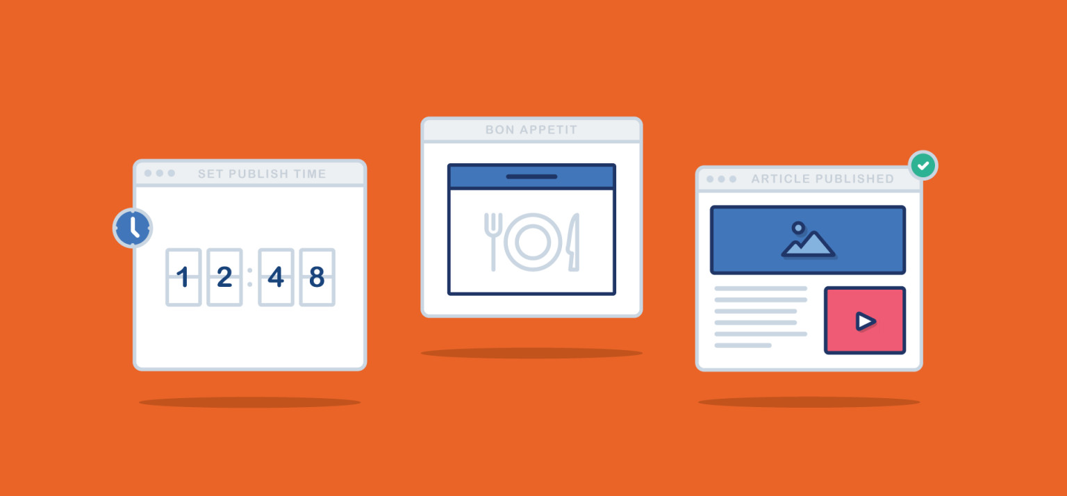 Illustration orange app illustrations