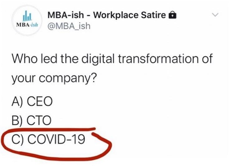 Digital Transformation meme