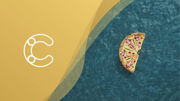 Blog header with Pizza