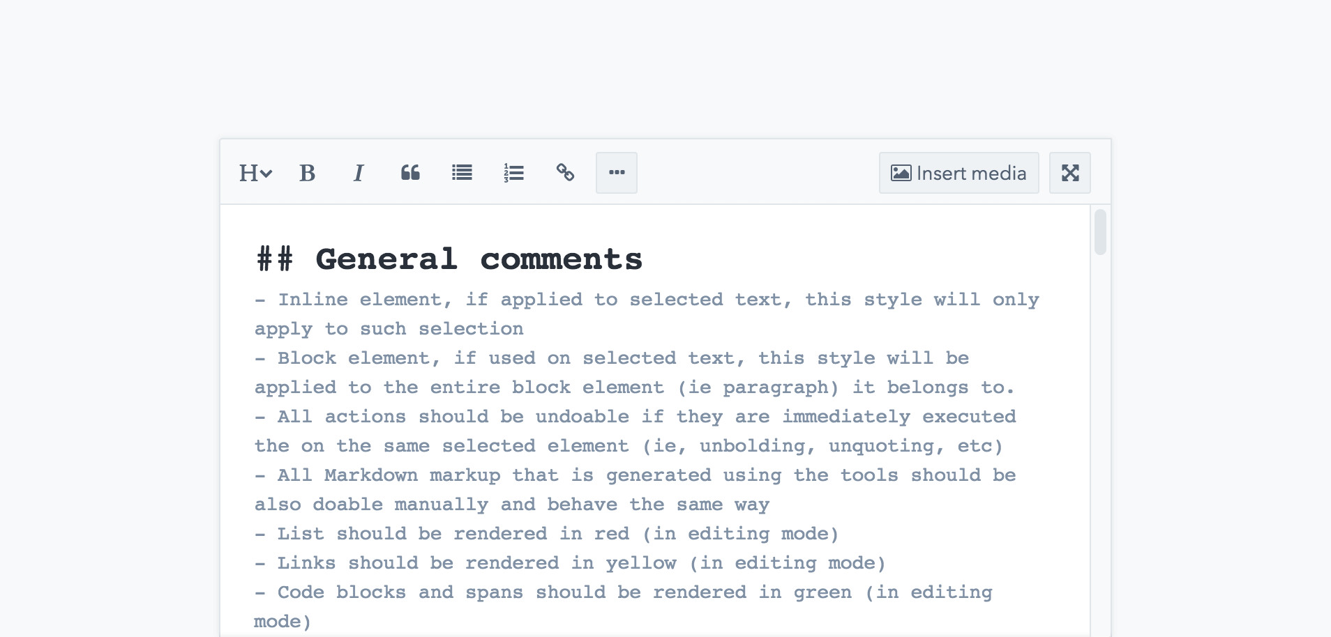 Markdown, the way to write | Contentful
