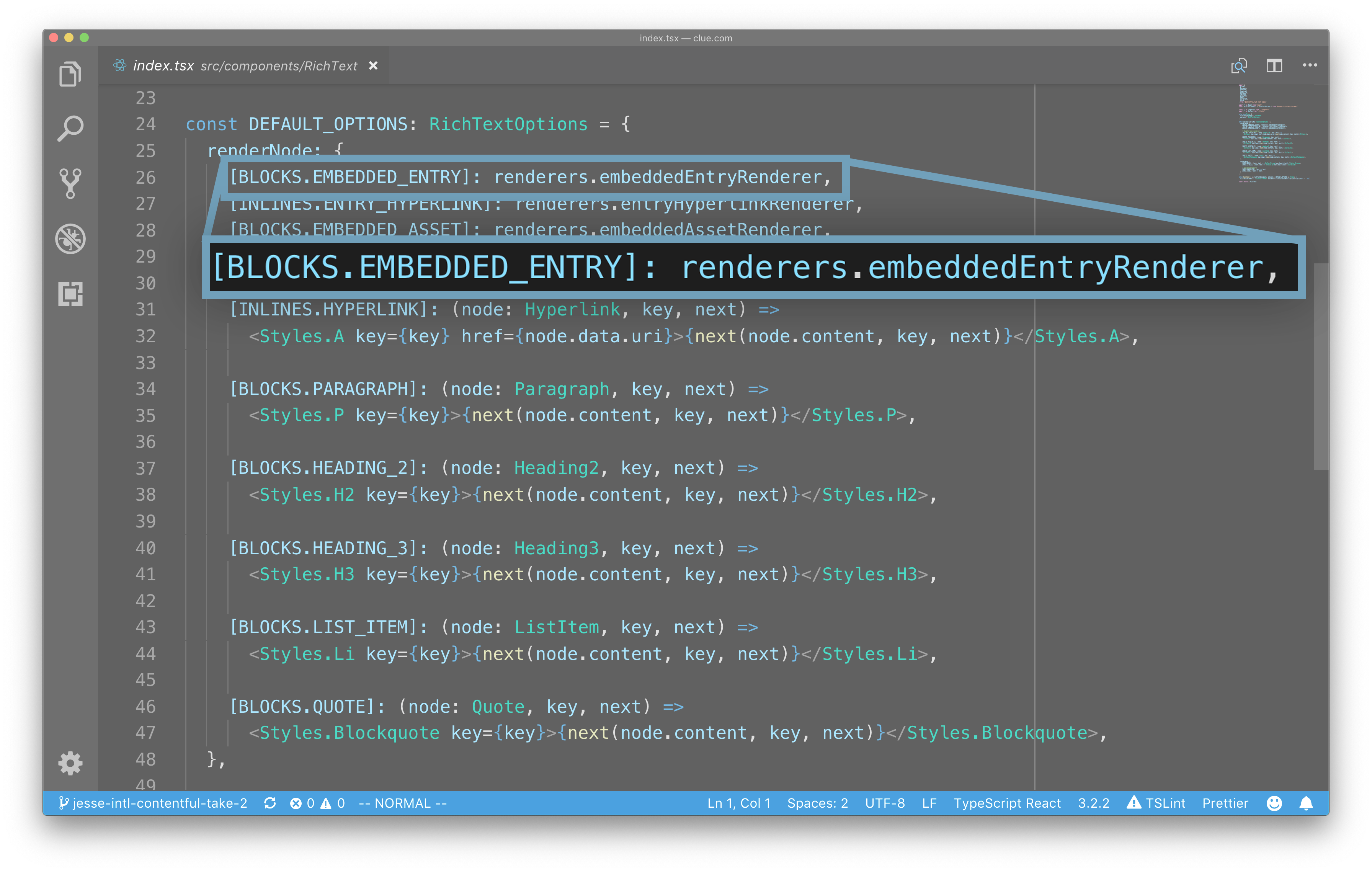 vscode-rich-text-renderers-embedded-entry