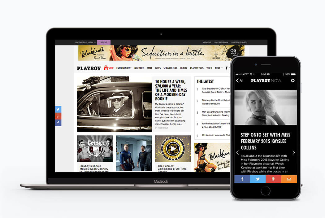 Managing cross-platform content at Playboy