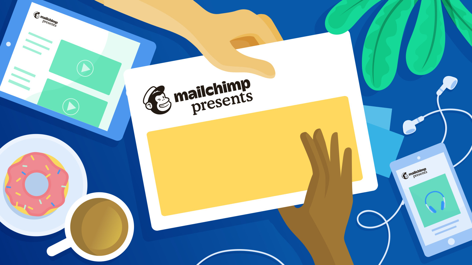 Mailchimp Presents, Work & Co, and Contentful