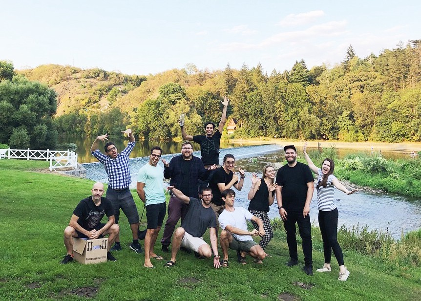 Design team at our 2018 design sprint in the Czech Republic​