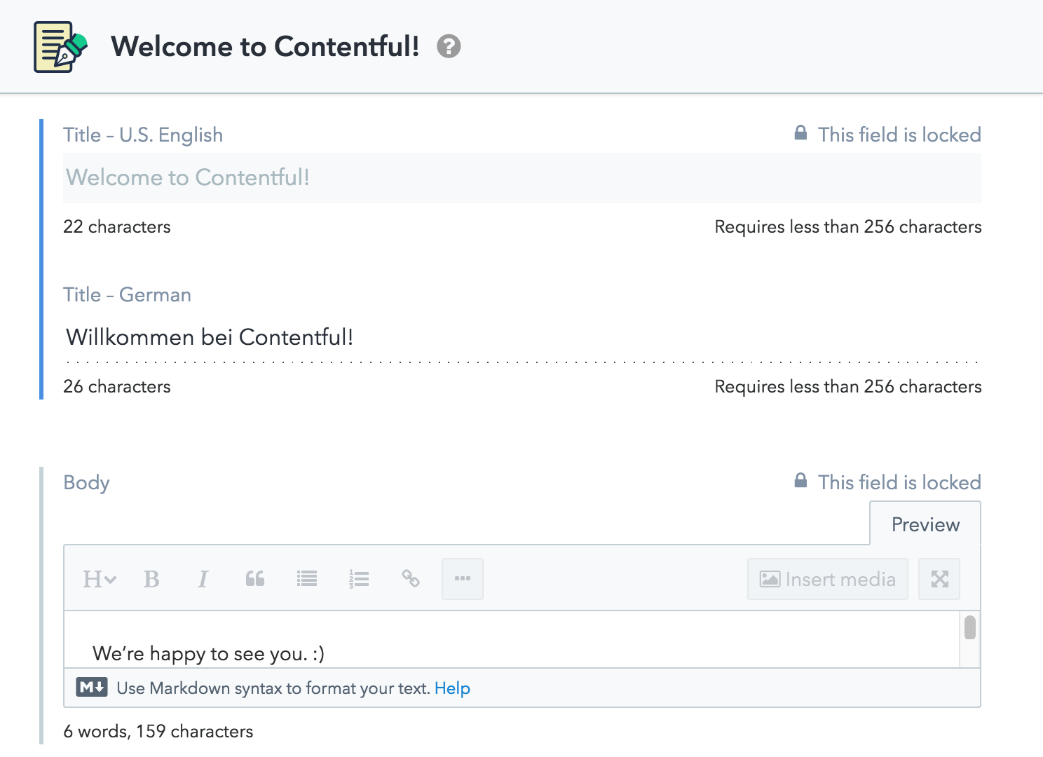 Localization with Contentful – Contentful