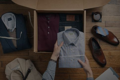 Trunk club only creates content once to be used across all its online properites