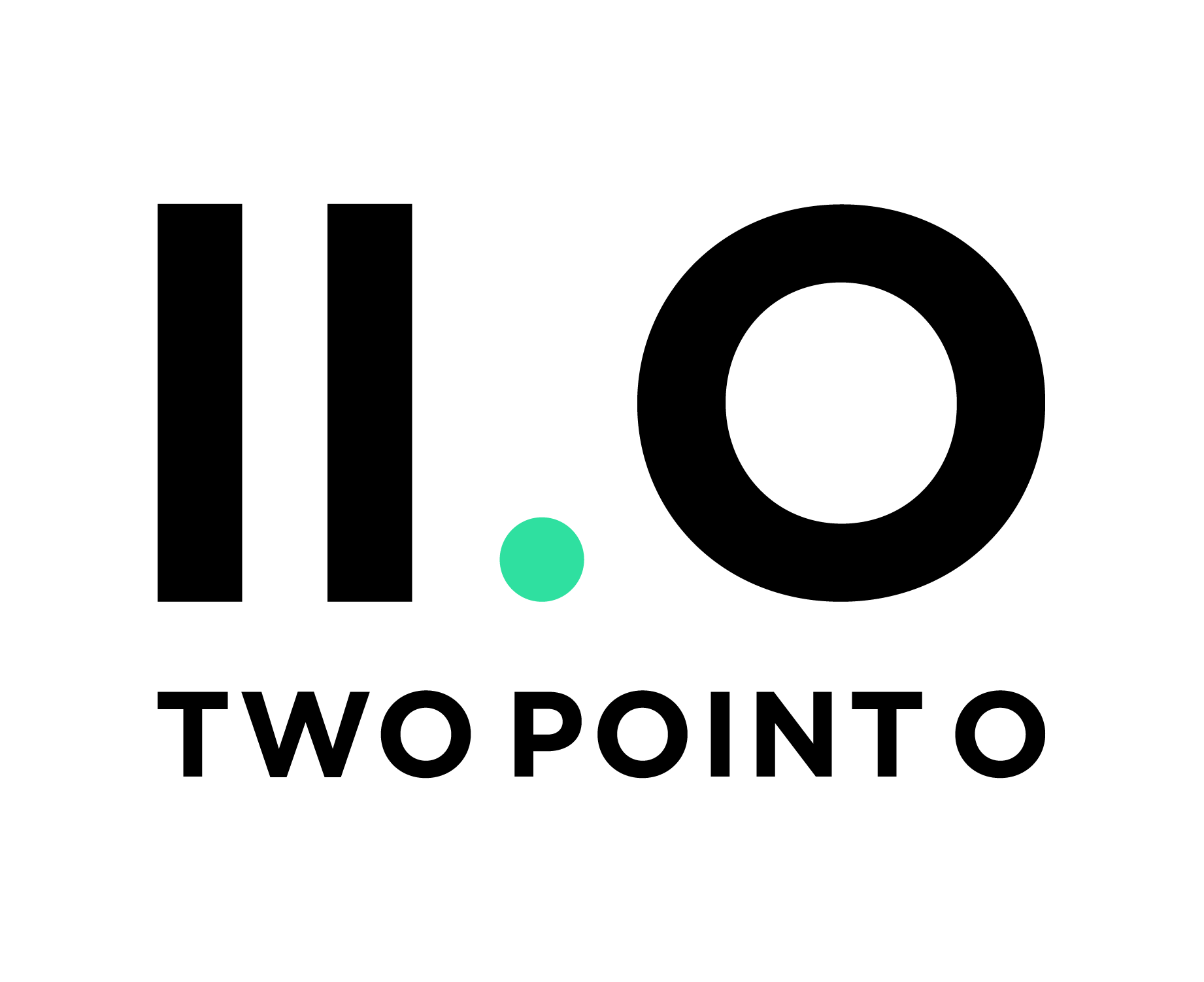 Two Point O Logo Color