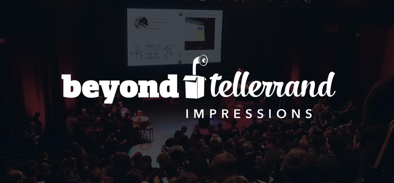 Beyond Tellerrand impressions