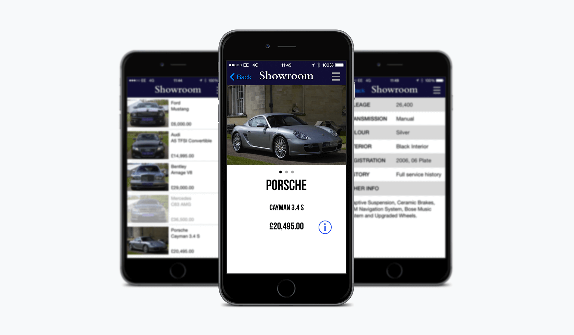 Townhouse App Screenshots