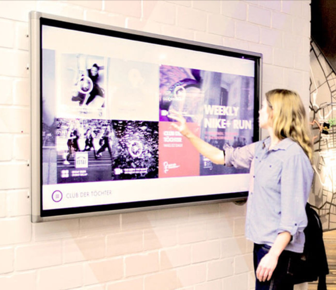 Nike creates digital displays with content controlled through Contentful