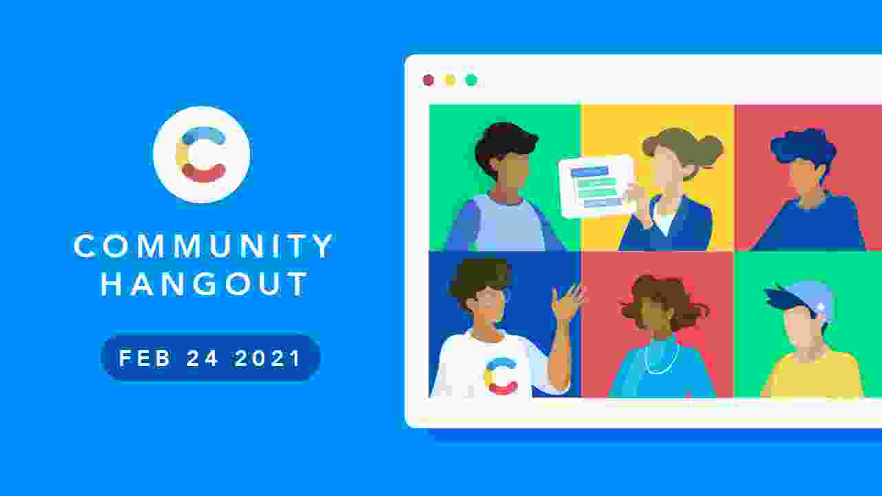 NA: Contentful Community Monthly Hangout Feb'21 - cover image
