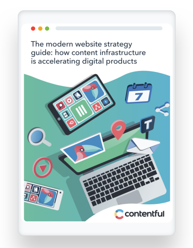 Ipad image - modern website strategy guide