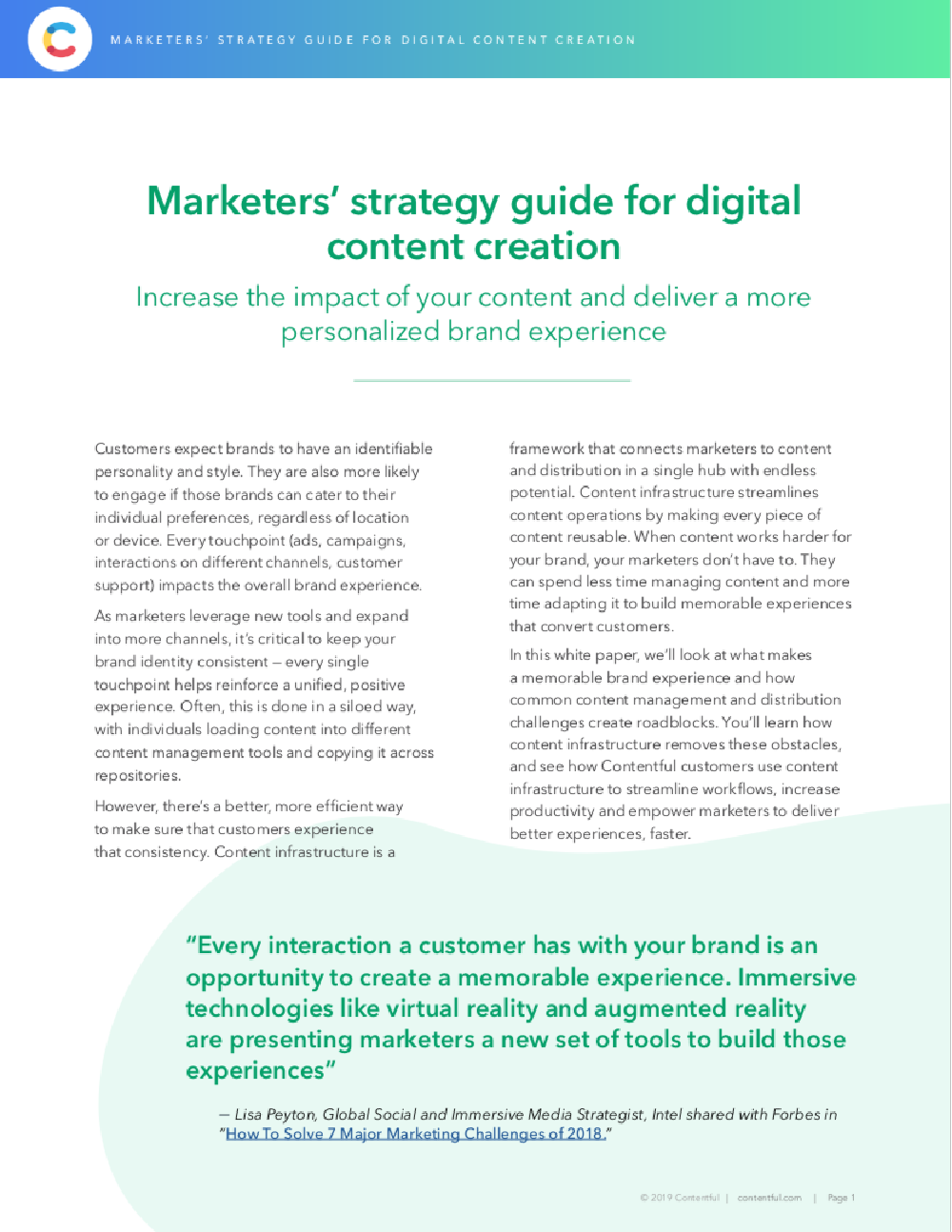 Marketers' strategy guide