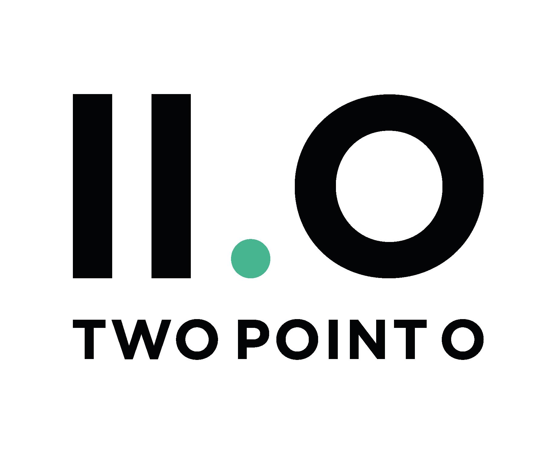 two point o logo