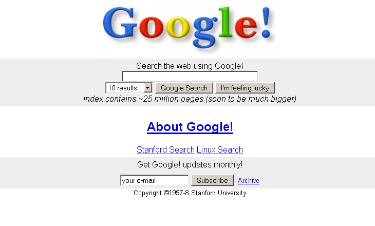 Early Google