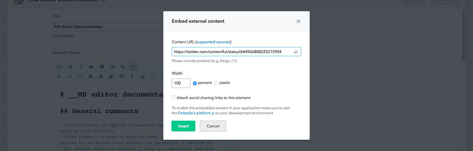 Markdown, the way to write   Contentful