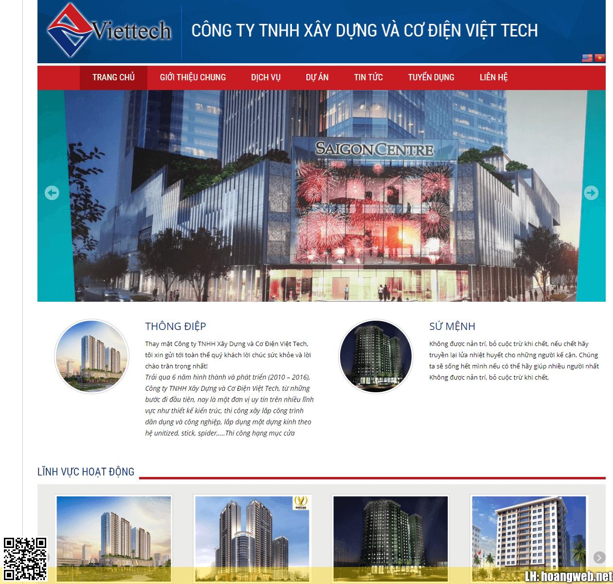 Mẫu web công ty thumbnail