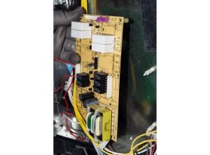 Remove the relay control board.