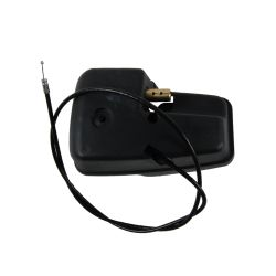 Replace the snowblower chute control gearbox