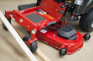 How to adjust the neutral control on a zero-turn riding mower