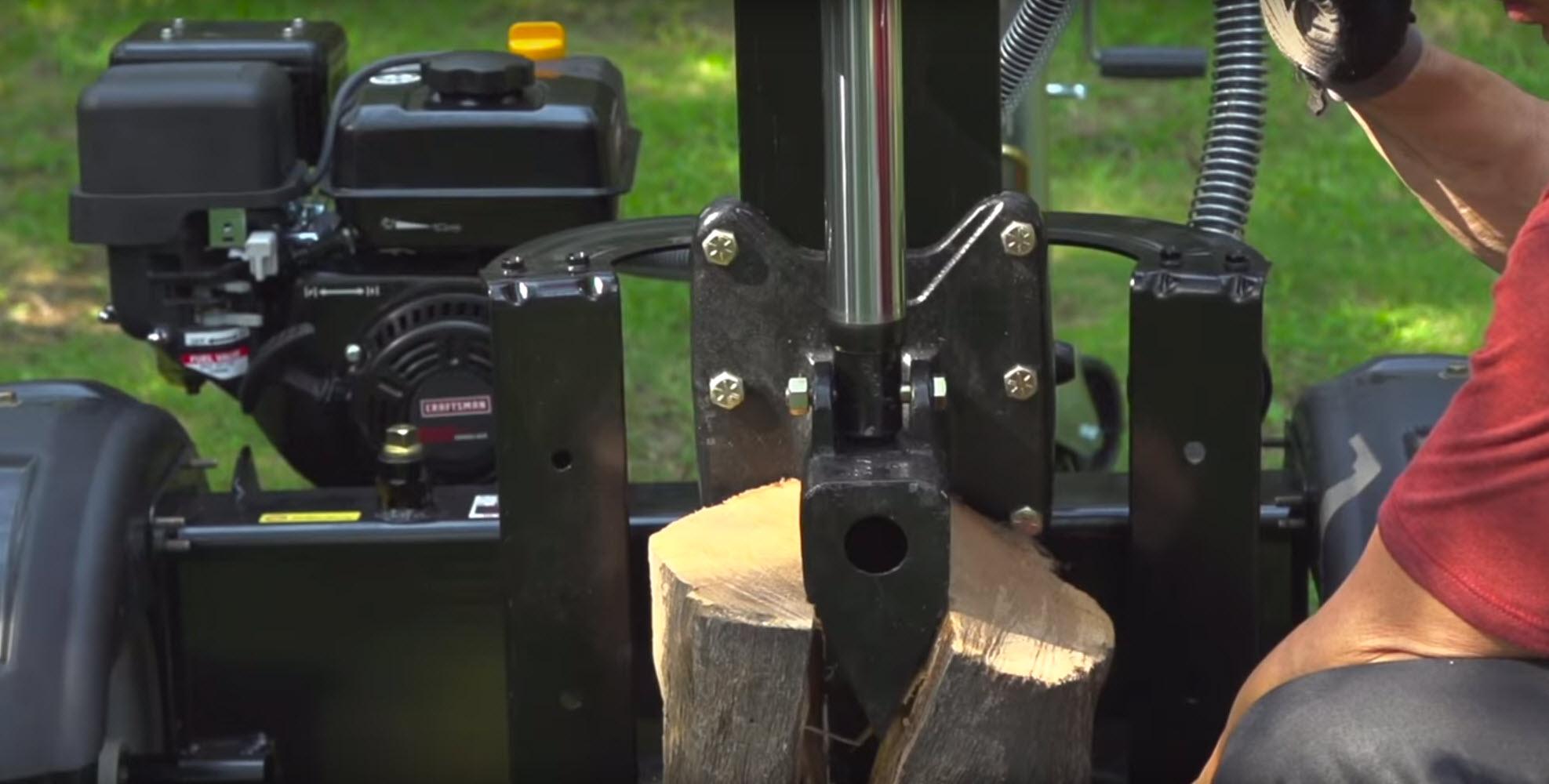 Common log splitter problems - engine won't start | Symptom