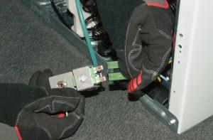 PHOTO: Unplug the valve wires.