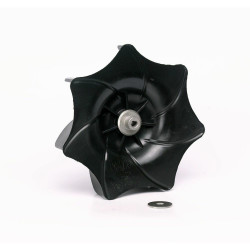 Replace the leaf blower fan blade