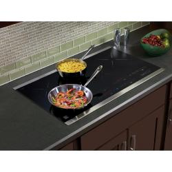 Tips for using an induction cooktop.
