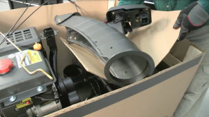 How to assemble a snowblower video.