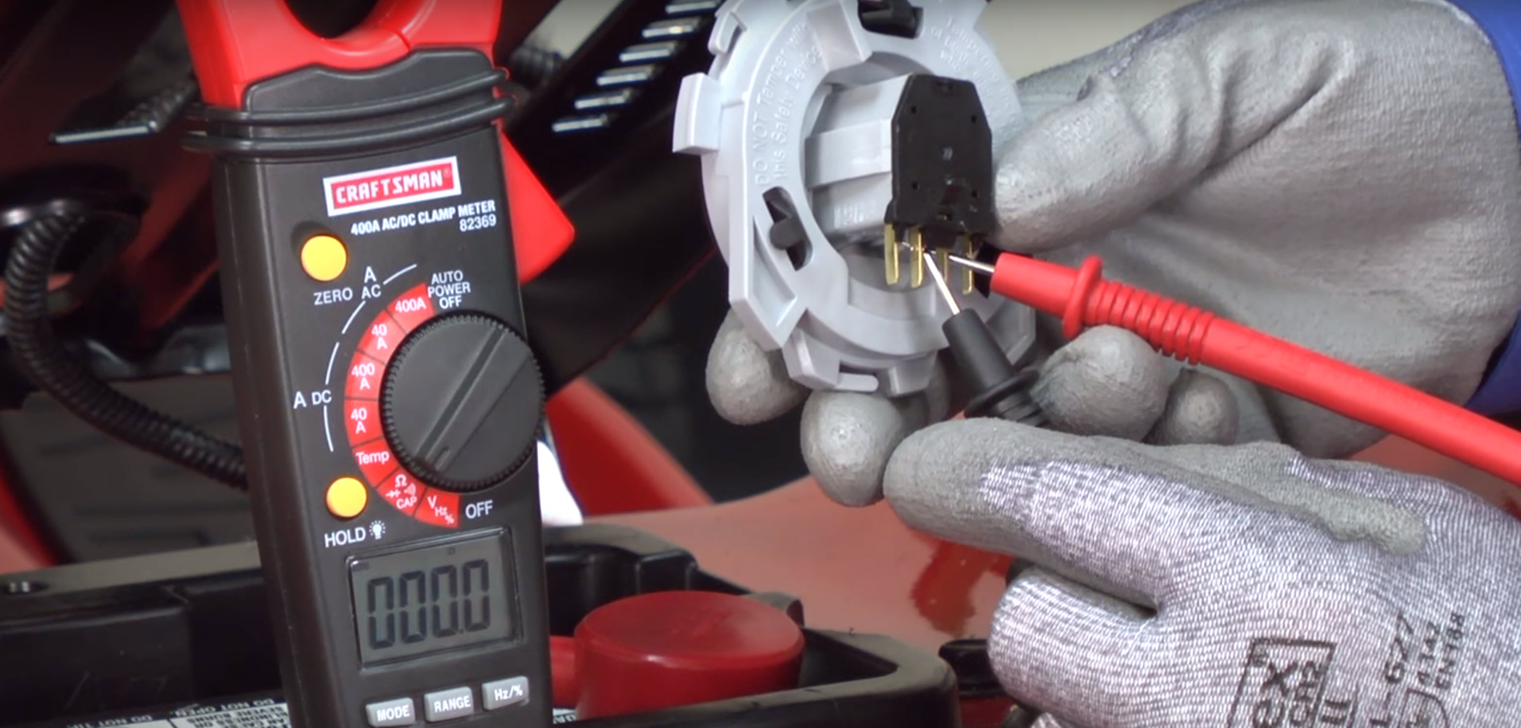 How to replace the brake interlock switch on a riding lawn