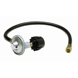 Replace the gas grill pressure regulator