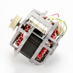 Replace the laundry center washer drive motor