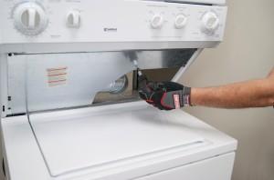 Remove the heat shield screws.