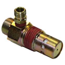 Tighten air compressor air tube fittings
