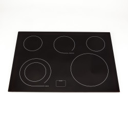 How to replace the glass top on an electric cooktop