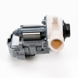 Repair or replace the washer drain pump