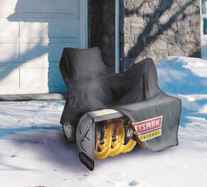 How to store a snowblower.