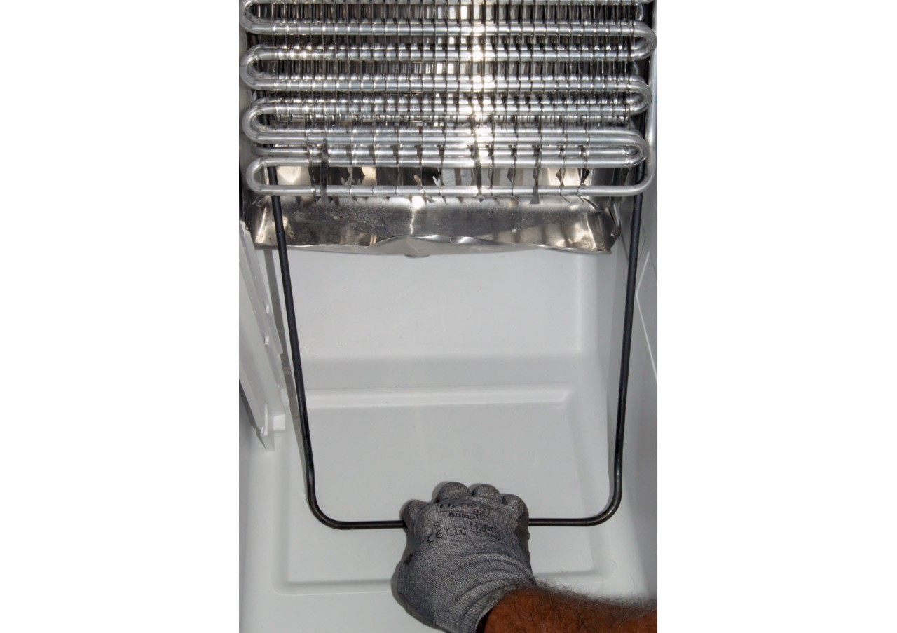 How to replace a defrost heater in a side-by-side